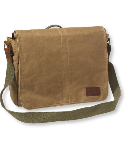 1f8b2a8e899f Heritage Waxed Canvas Messenger Bag