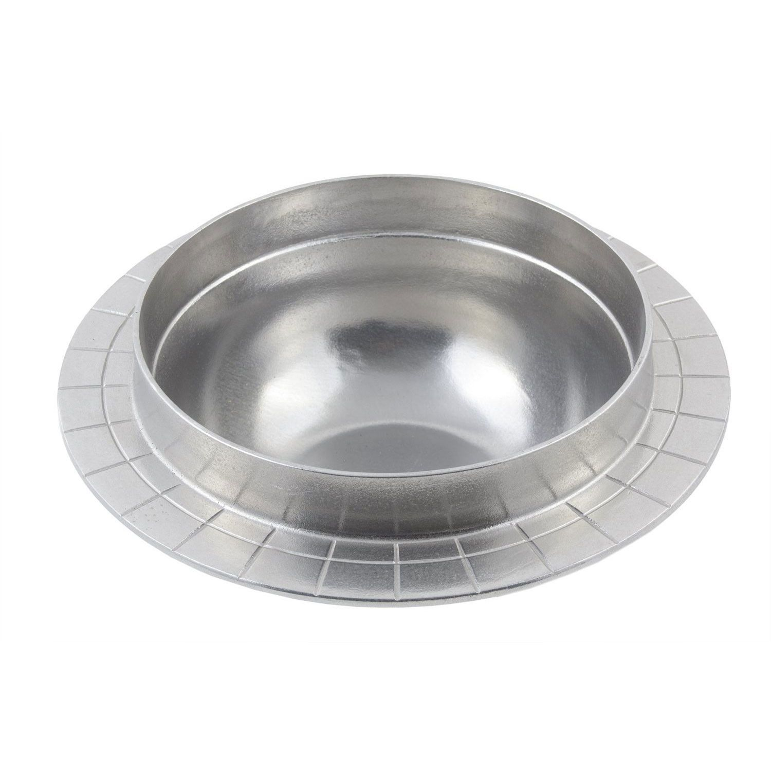 2 gal 11 3/8 x 6 inch Soupwell for Round Chafer Pewter Glo
