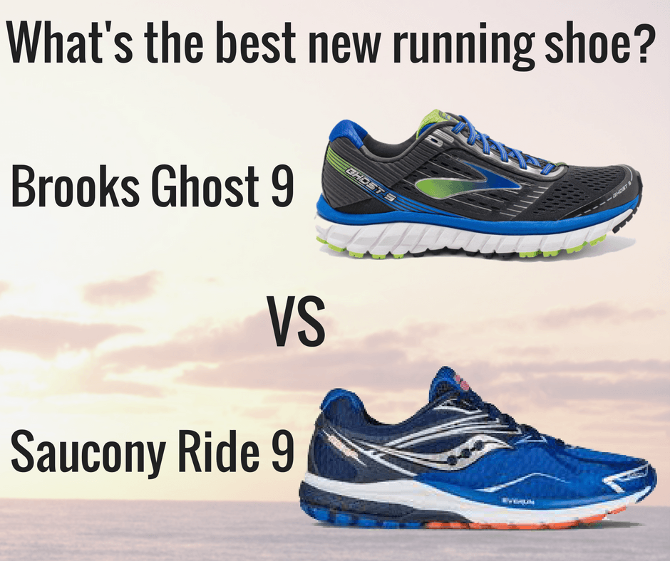 Brooks Ghost 9 vs. Saucony Ride
