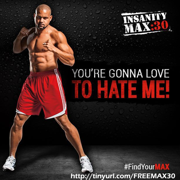 Insanity Max 30 review: You're gonna push, you're gonna MAX OUT and you're gonna love your body! Only 30 Minutes and 5 days a week! http://www.tipstoloseweightblog.com/weight-loss/insanity-max-30-review #Insanity2Max30