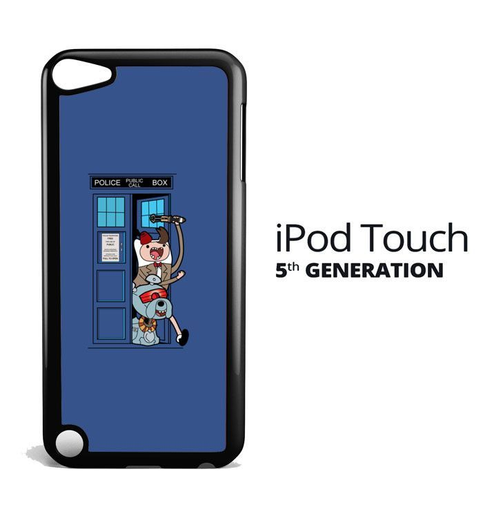 adventure time tardis X2905 iPod Touch 5 Case