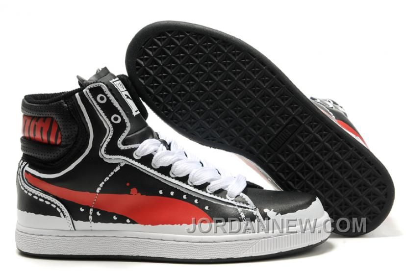 http://www.jordannew.com/puma-first-round-rp-sneakers-blackred-discount.html PUMA FIRST ROUND RP SNEAKERS BLACKRED DISCOUNT Only $88.00 , Free Shipping!