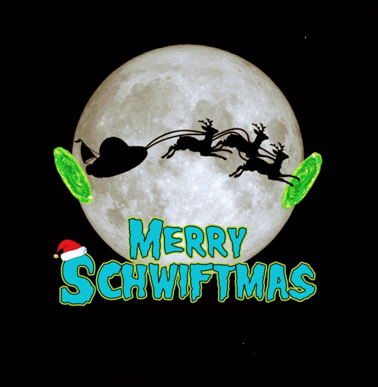 Rick and Morty x Merry Schwiftmas (With images)   Rick and ...