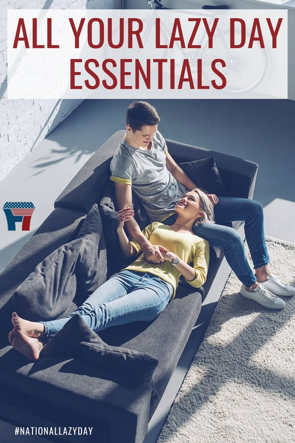 Everything you could want for NationalLazyDay from F7