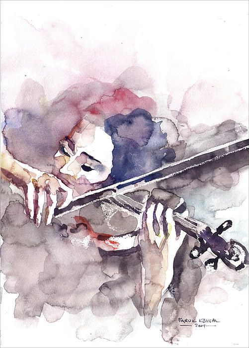 Violin Prelude...© Faruk Köksal