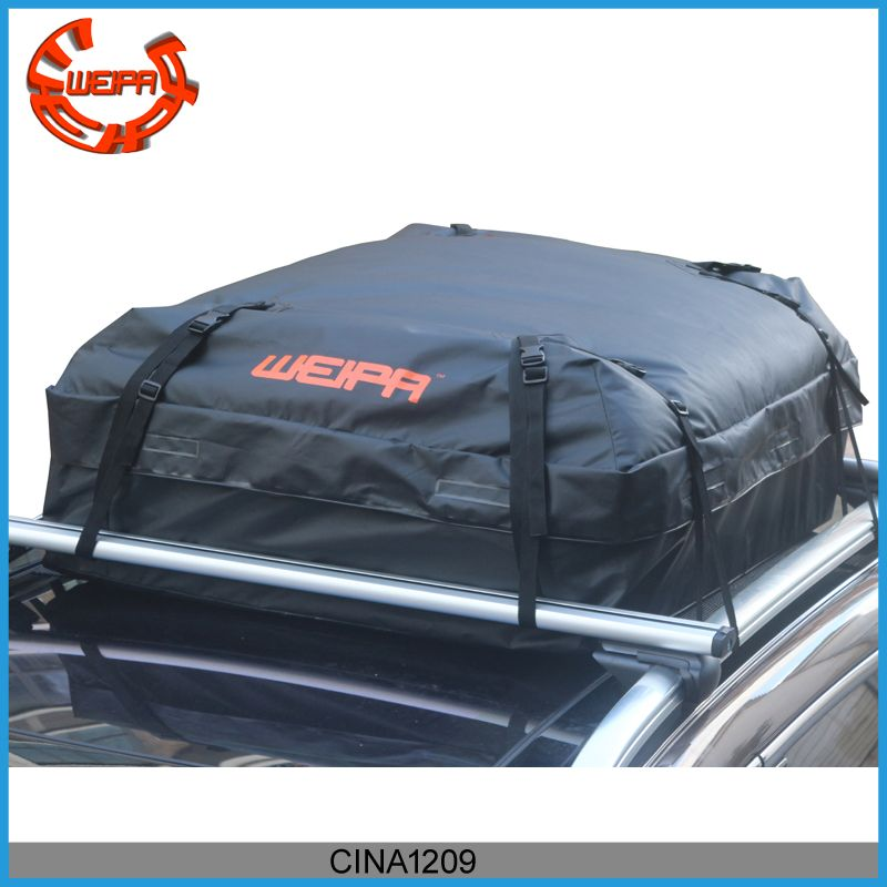 Weipa Waterproof Roof Top Cargo Bag 15 Cubic Feet Super Strong And Extra Waterproof Tarpaulin Material Ideal For Road Trips Tarpaulin Bags Chinese Car
