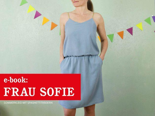 eBOOK ☆ FRAU SOFIE - Trägerkleid | Trägerkleid, Schnittmuster und ...