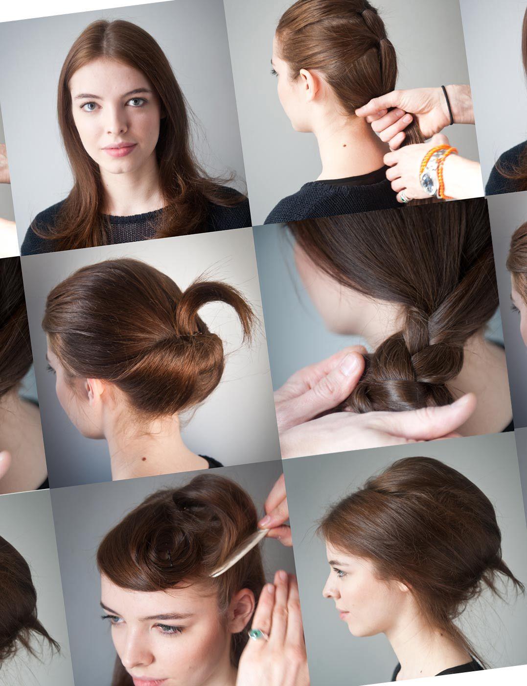 three step hairstyles diy