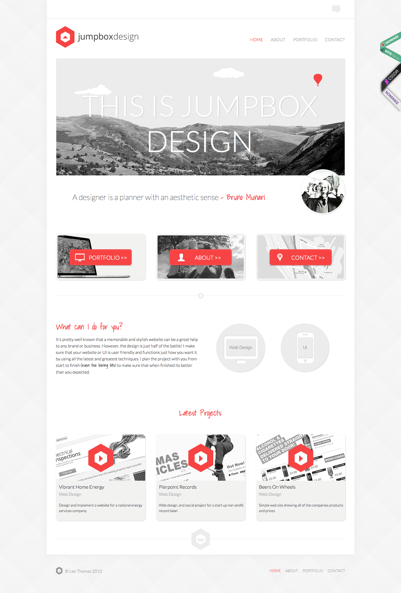 15 Inspirational Examples Of Minimal Clean Web Design Web
