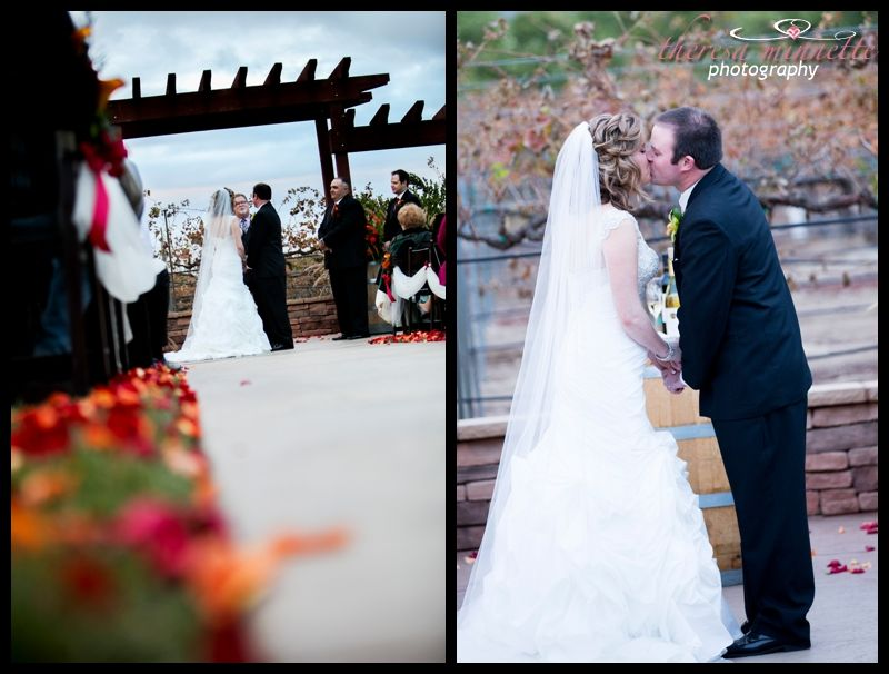 Stacy Chris Winery Wedding At Wiens Family Cellars Temecula