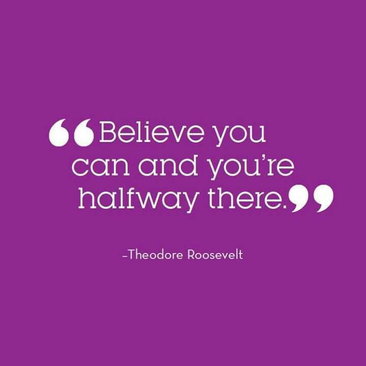 believe u can