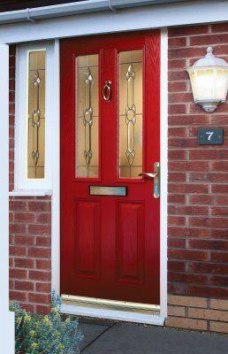 Red front door x