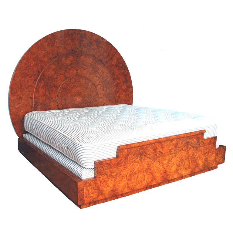 Art Deco Bed Art Deco Bedroom Furniture Pinterest Art Deco Bed