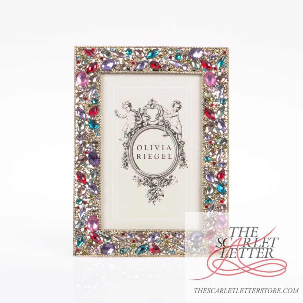 #Brighten up your #space with this #gorgeous #jewelled #photo #frame by #OliviaRiegel