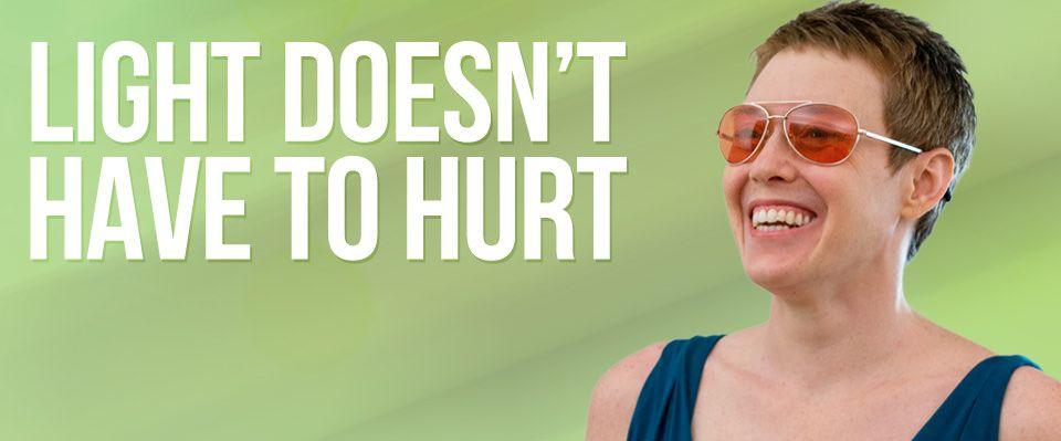 Migraine Relief - Fluorescent Light Glasses for Migraines - TheraSpecs