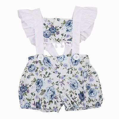 Toddlers Baby Kids Girls Dress Tops Short Newborn Romper Jumpsuit Outfit Clothes