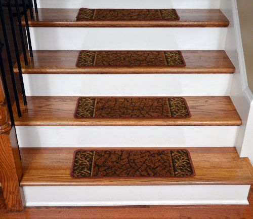 Best Dean Washable Non Skid Carpet Stair Treads – Garden Path Terra Cotta 13 Carpet Stair Treads 400 x 300