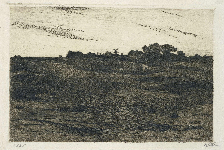 Heidelandschap, Willem Witsen, 1870 - 1923