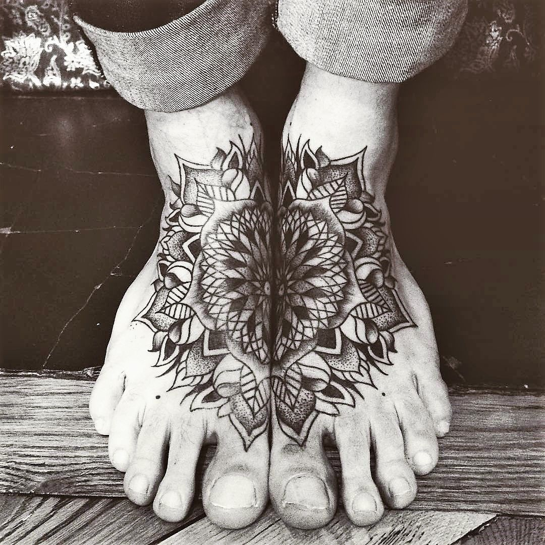 mandala tattoos vary greatly in style form and placement. Black Bedroom Furniture Sets. Home Design Ideas