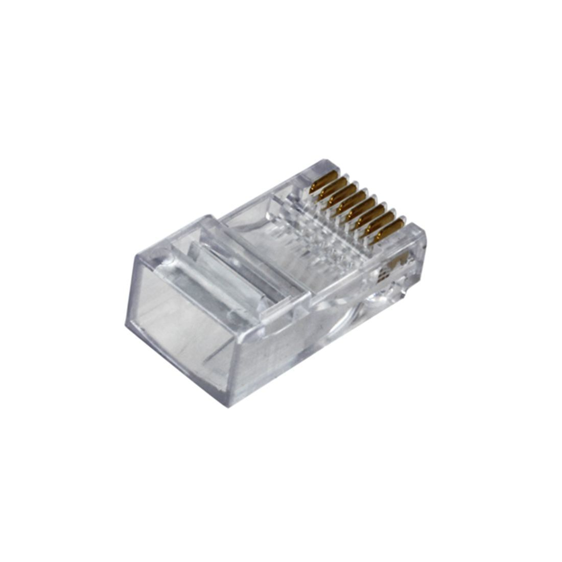 IDEAL 85-346 RJ-45 8-POS 8-Contact Plugs Pkg of 25