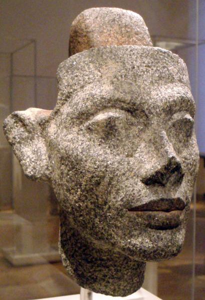 Granite Head Statue Of Nefertiti The Securing Post At Head Apex Allows For Nefertiti Reine D Egypte Musee Berlin