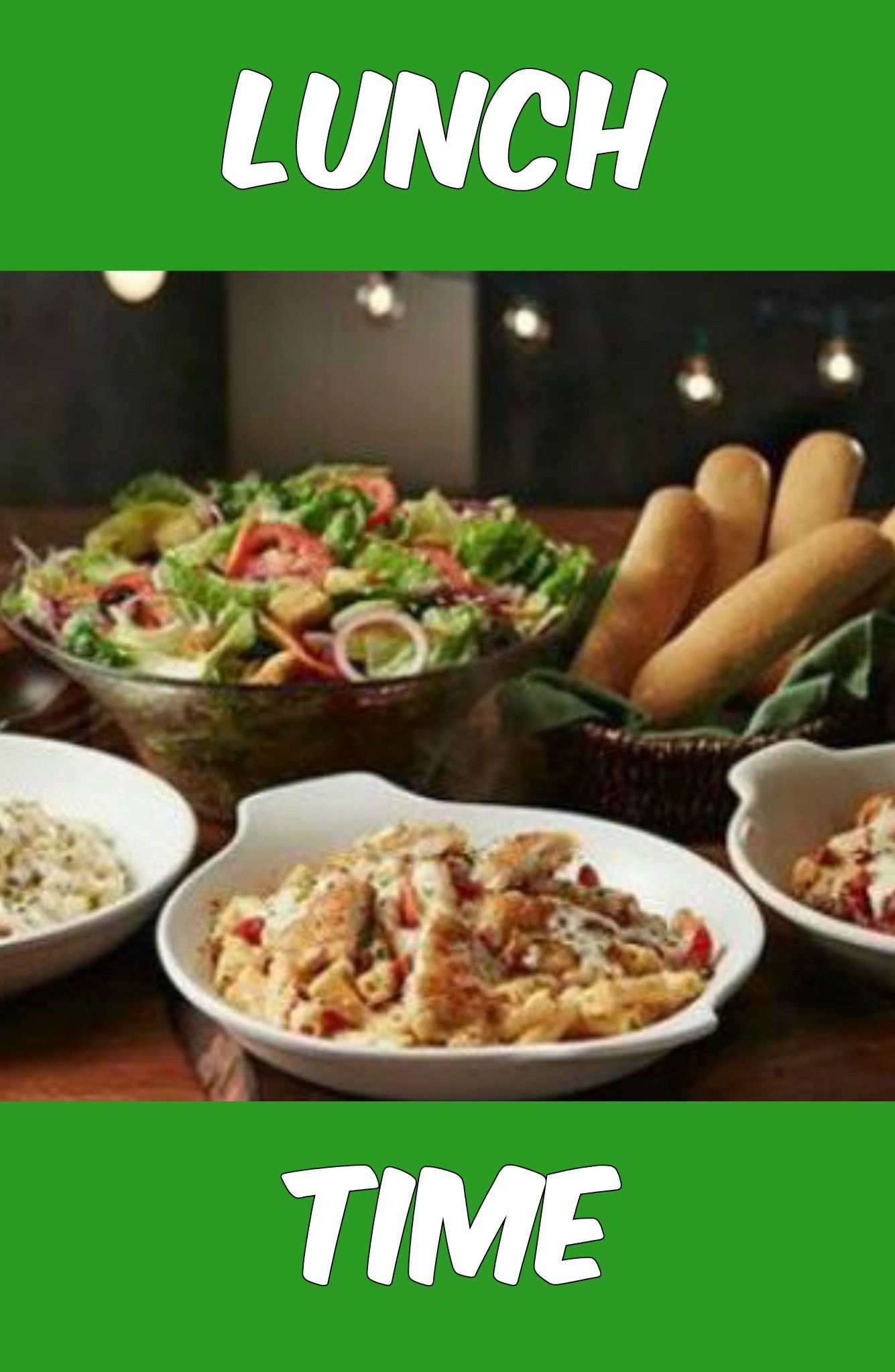 Olive Garden Lunch Duo + Unlimited Soup or Salad + Breadsticks Just ...