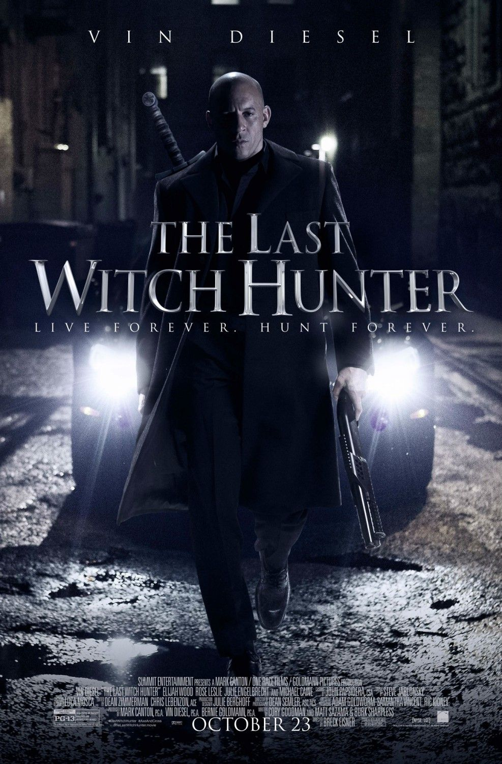 The Last Witch Hunter Extra Large Movie Poster Image Internet Movie Poster Awards Gallery The Last Witch Hunter The Last Witch Hunter Movie
