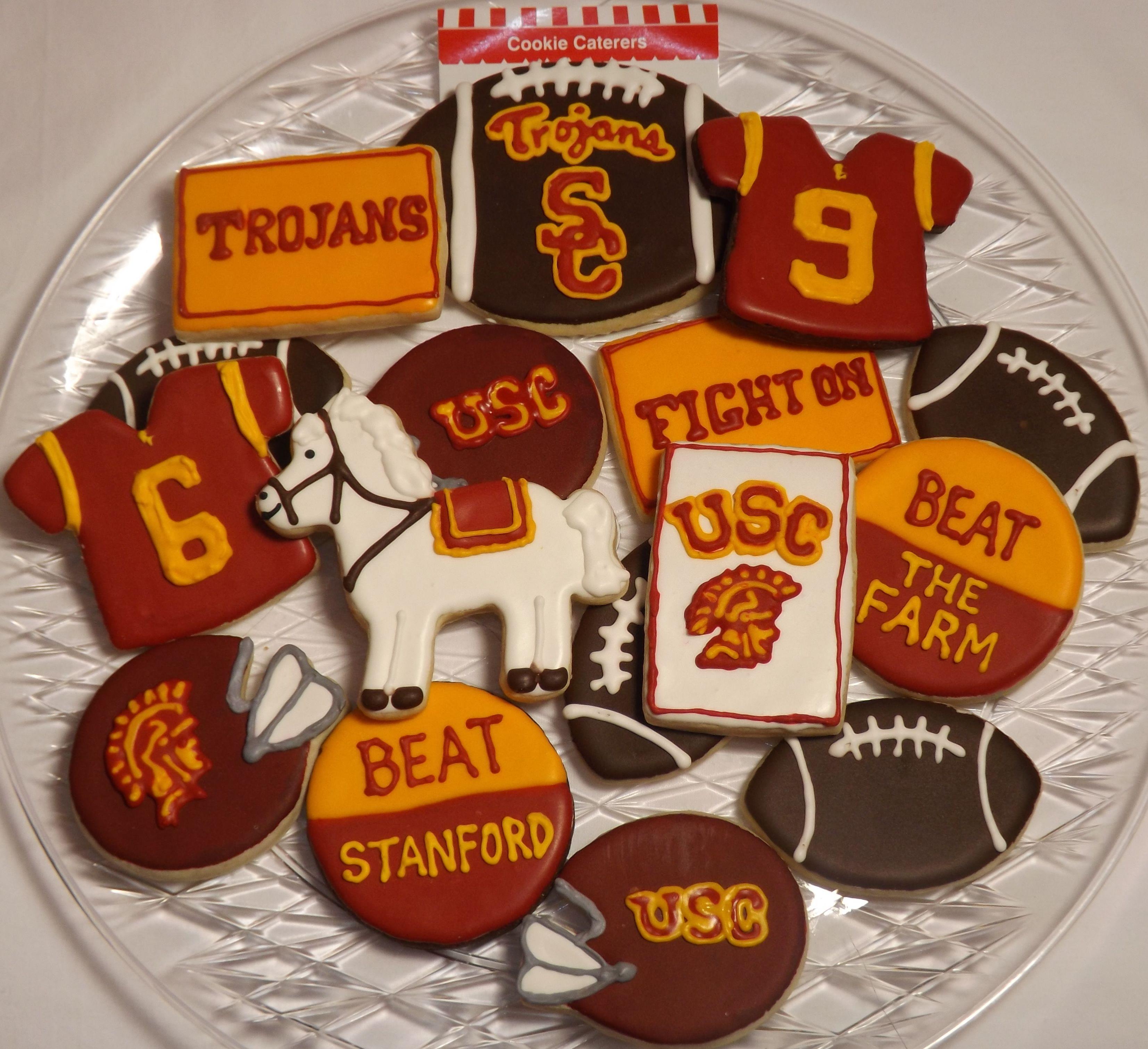 Usc Cookies.soooooo Cute Trojans Football
