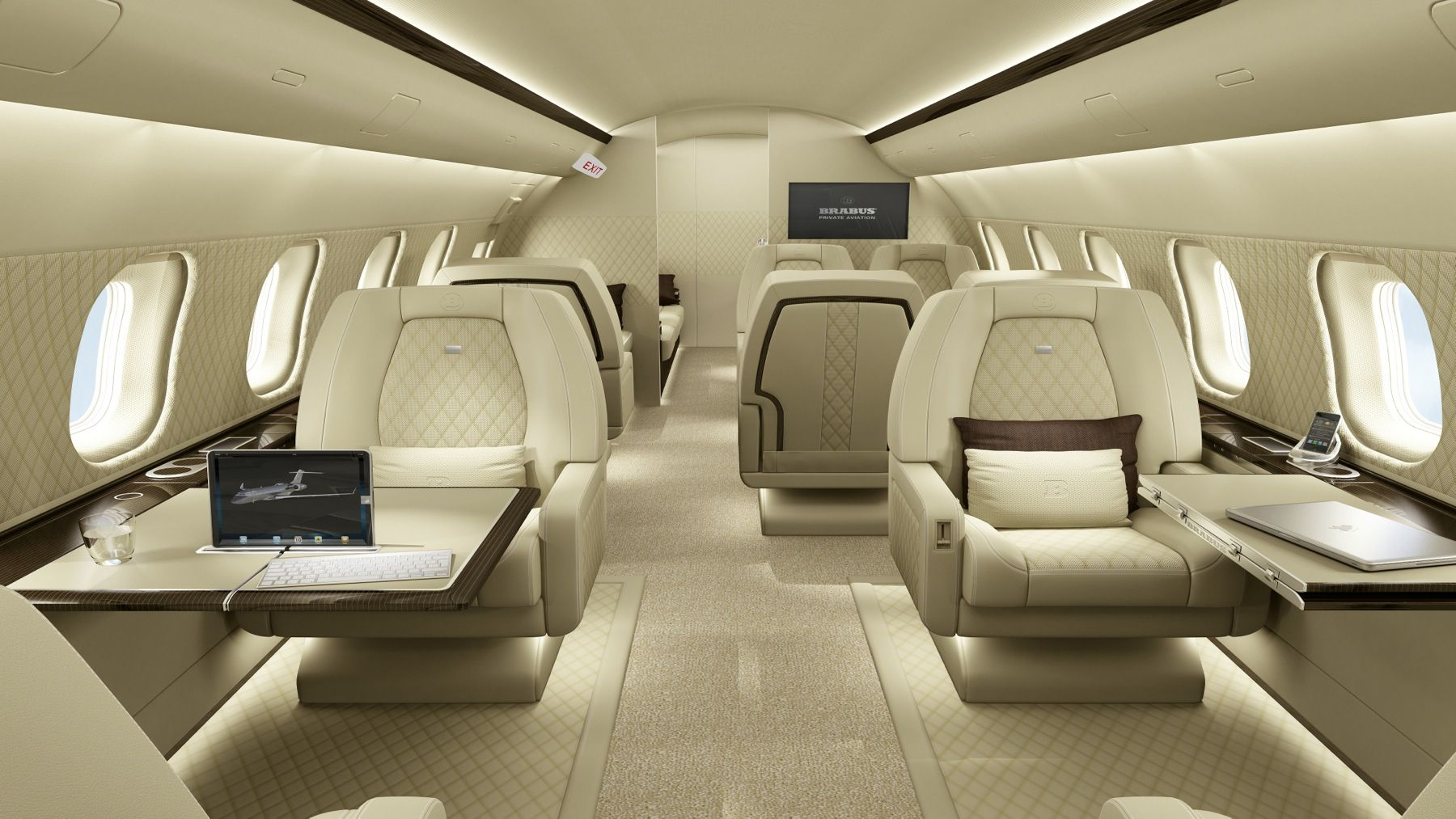 Gulfstream g650 interior bedroom 豪华私人飞机 iacharterjets  private jets  pinterest