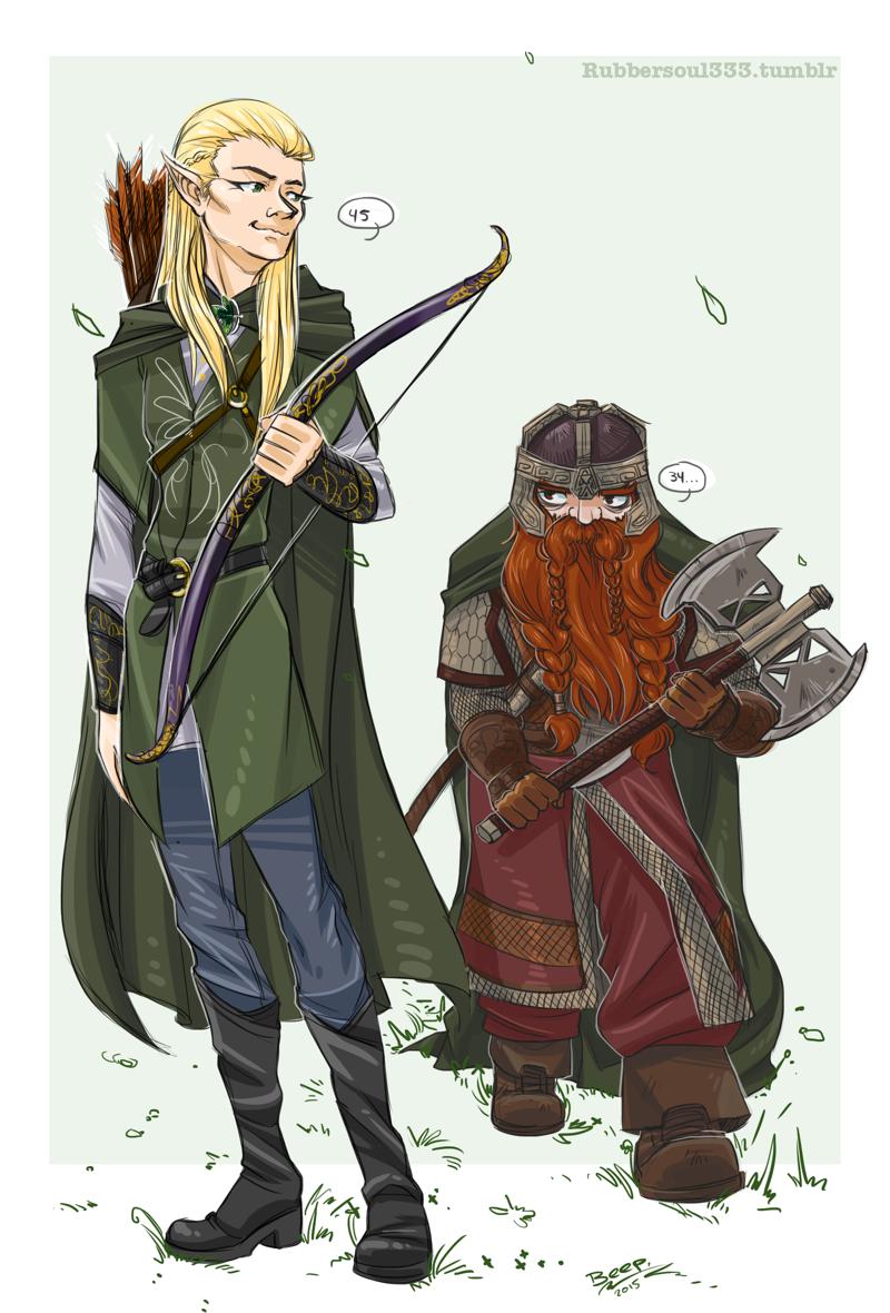 Anime LoTR tbh by Naikoworld on DeviantArt | Lotr, Legolas ...