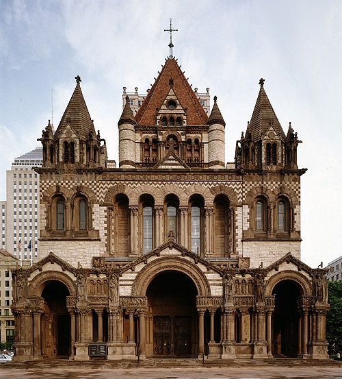 victorian revivals pinterest trinity church boston churches and