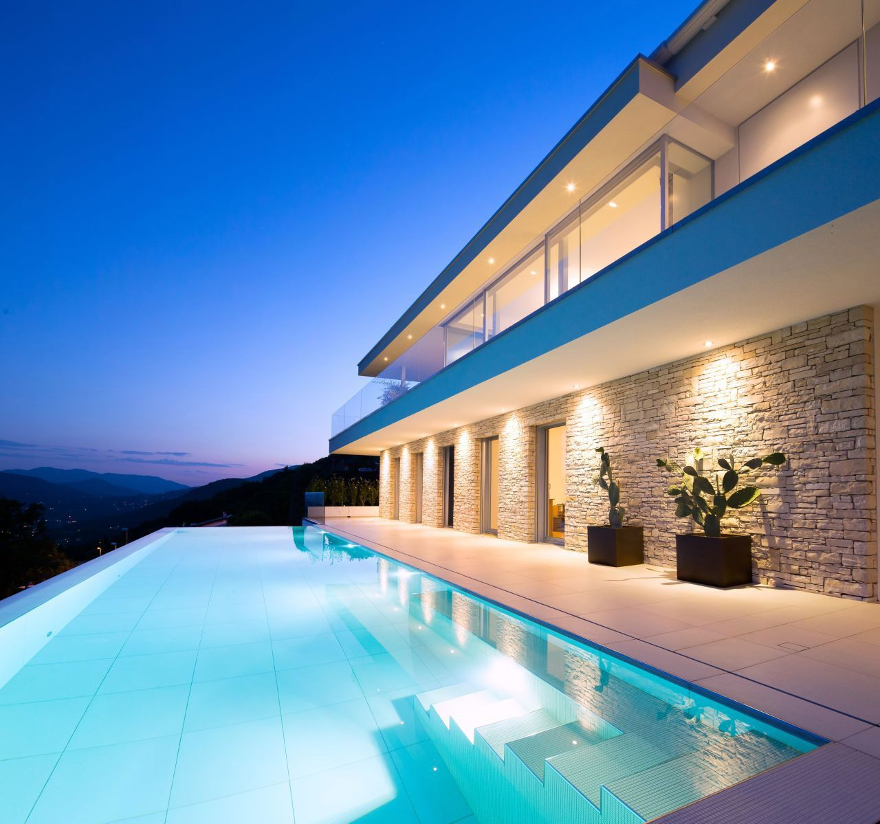 House Lombardo By Philipp Architekten 24 Homedsgn Switzerland House Outdoor Outdoor Pool