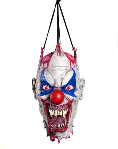 Hanging Clown Head Decoration halloween Pinterest Halloween - life size halloween decorations