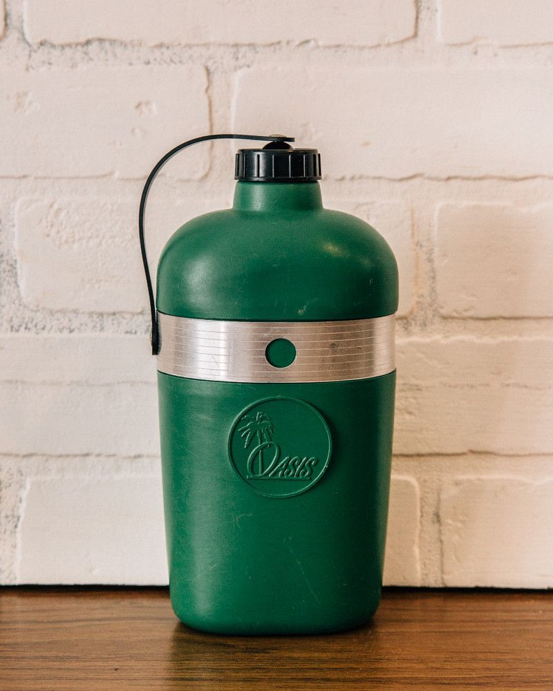 Vintage Green Canteen