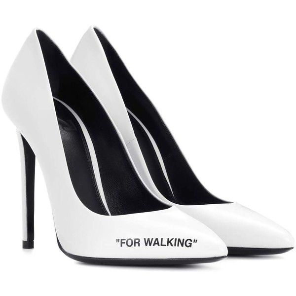 Off-White For Walking Leather Pumps