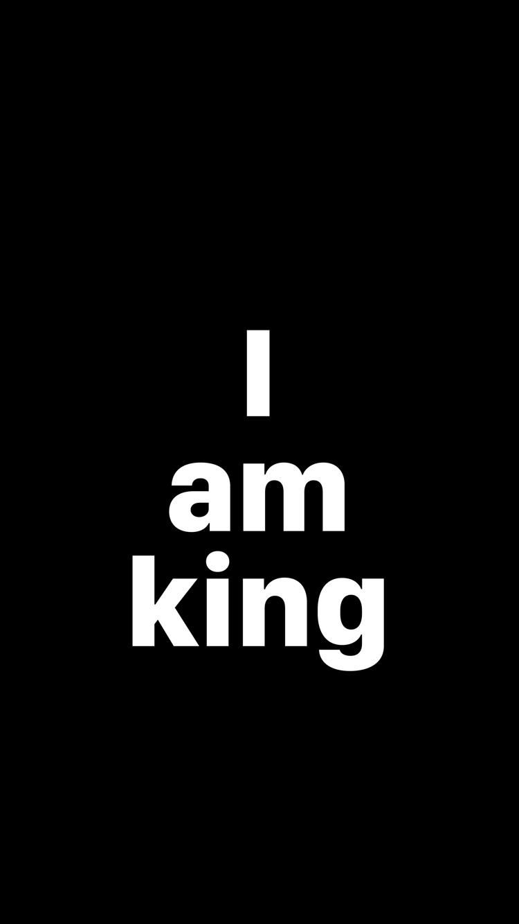 I Am King Desktop Background Quote King Quotes Joker Wallpapers