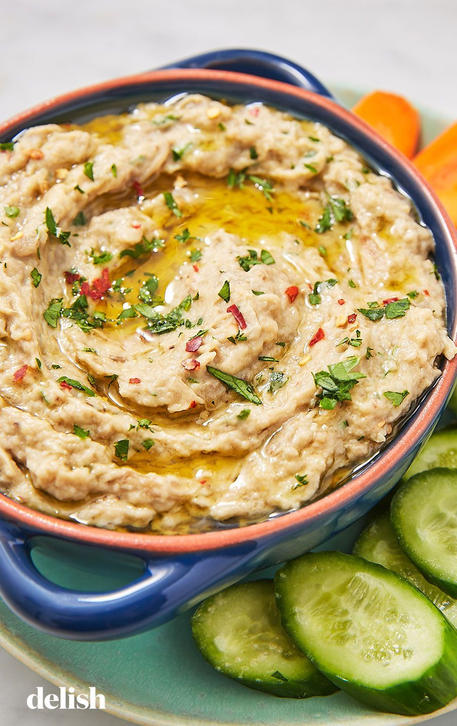Garlic Lovers Will Devour Our Best-Ever Baba Ghanoush #babaganoushrezept