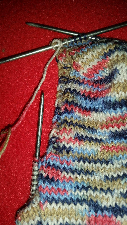 Socken stricken wie oma mit ganz einfacher anleitung for Decken streichen leicht gemacht