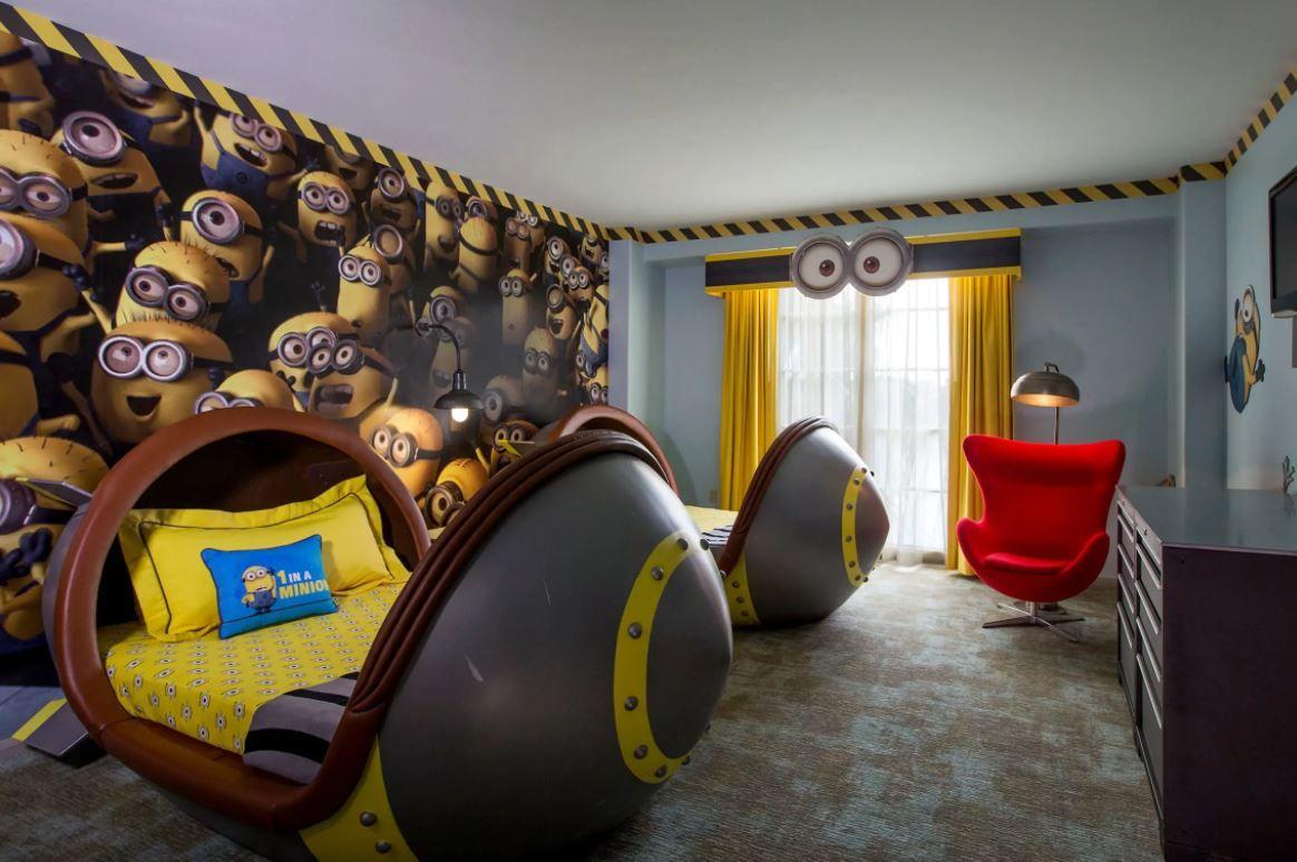 Minions suite at Universal Orlando Resort