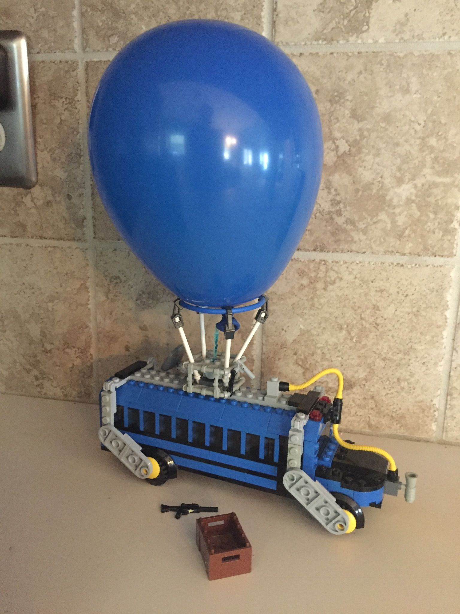 Lego Battle Bus Fortnite With Images Lego Cool Lego Creations