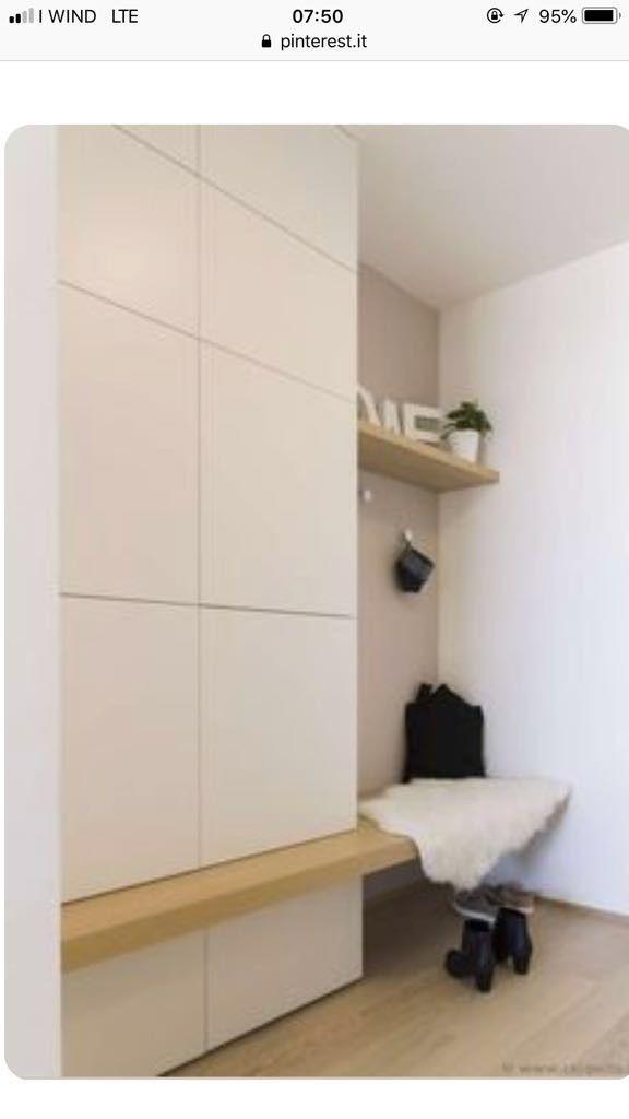 Pin Von Maja Janzetic Auf Ingresso Vorzimmer Garderoben Eingangsbereich Einbauschrank