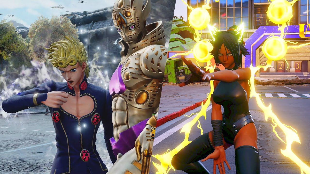 Jump Force Yoruichi Giorno Movesets Vs Battles Gameplay Dlc 4k 60fps Gameplay Battle One Punch Man