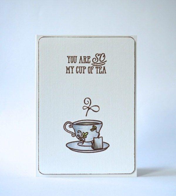 Avery Elle Tea Time Card Idea Avery Elle Pinterest Tea time - time card