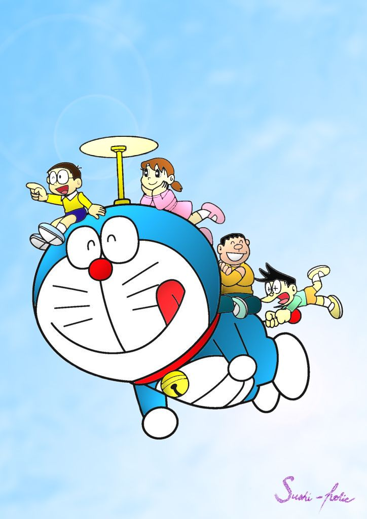 Doraemon by sushi-holic on DeviantArt