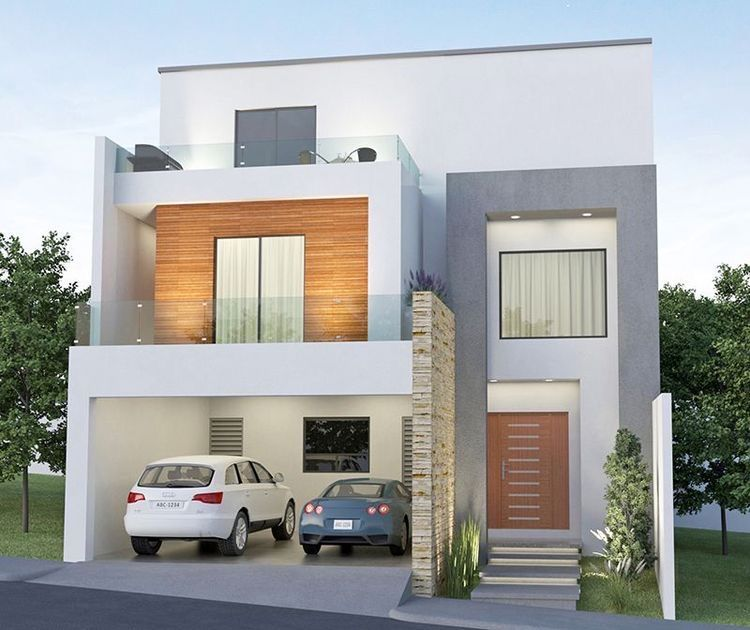 Pin By Candy Balam On Homme Ideas House Architecture Styles Facade House House Front Design