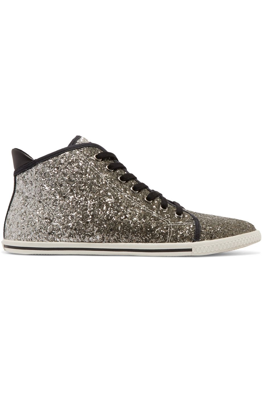 Marc By Marc Jacobs Woman Glittered Canvas Sneakers Black Size 38 Marc Jacobs gW0rAUB