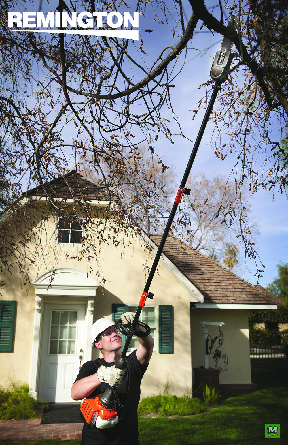 The Maverick Gas Powered Tree Trimmer Offers The Freedom To Work At Different Lengths For Different Tasks
