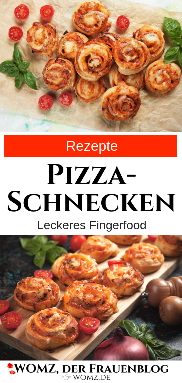 Photo of Pizza snail recipe: Delicious finger food for your party, birthday party or …