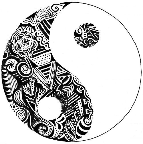 Showing post & media for Tumblr ying yang designs | www ...
