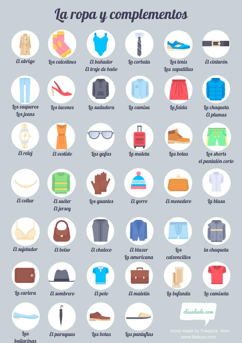 Triminó La ropa (Formato A3)